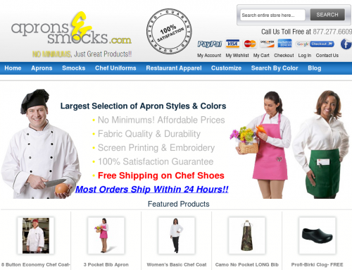 Case Study: Aprons & Smocks