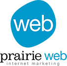 PrairieWeb Internet Marketing Logo