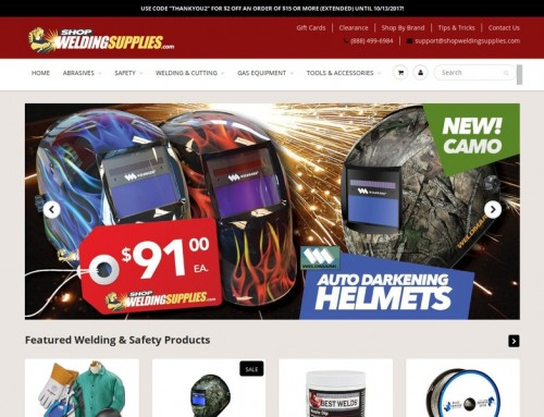 Shop Welding Supplies
